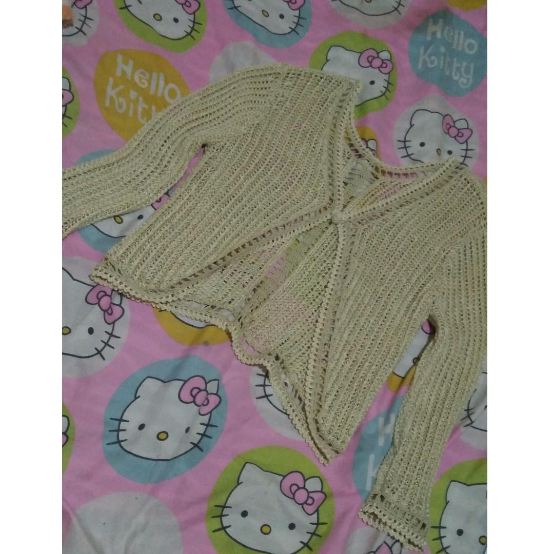 Longsleeves Bolero Crochet M to L