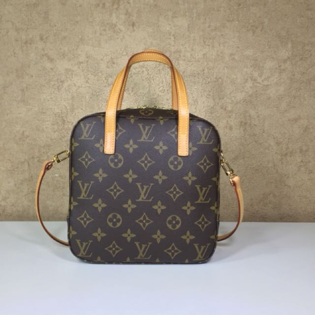 Louis Vuitton M47500 Monogram Spontini Hand Bag 2way Luxury Bags Wallets On Carou