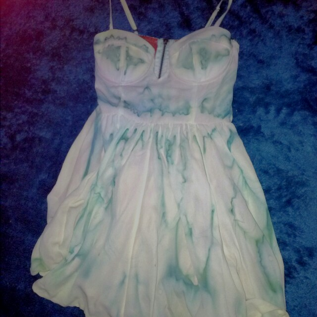 Loving Things tie dye bustier dress small