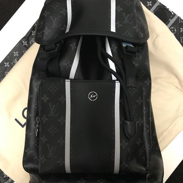 4638f525587d LV X Fragment x Louis Vuitton ZACK BACKPACK