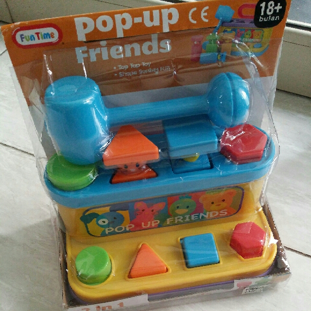 Mainan Bayi Anak/ Pop-up Friends