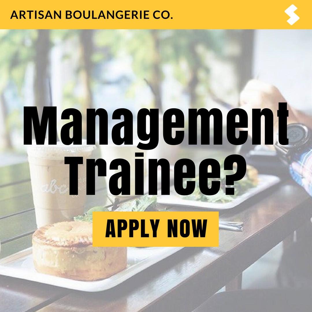 Graduate Management Trainee Job Artisan Boulangeri Co Community