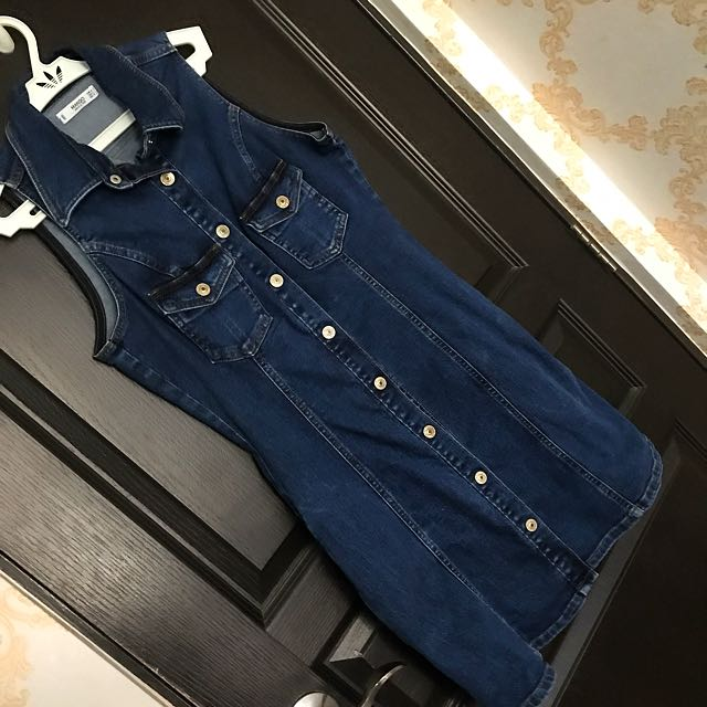 Mango denimn dress