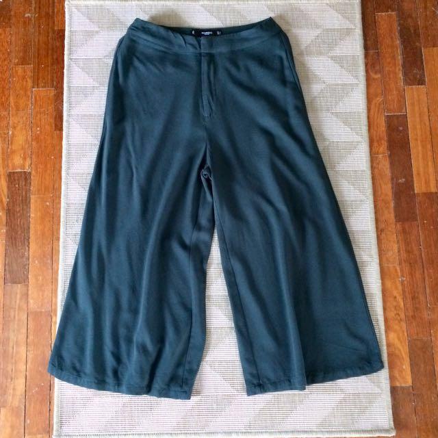 MANGO Wide Leg Culotte Pants
