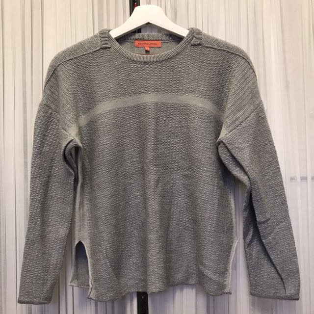 MANNING CARTELL GREY KNITWEAR SIZE SMALL