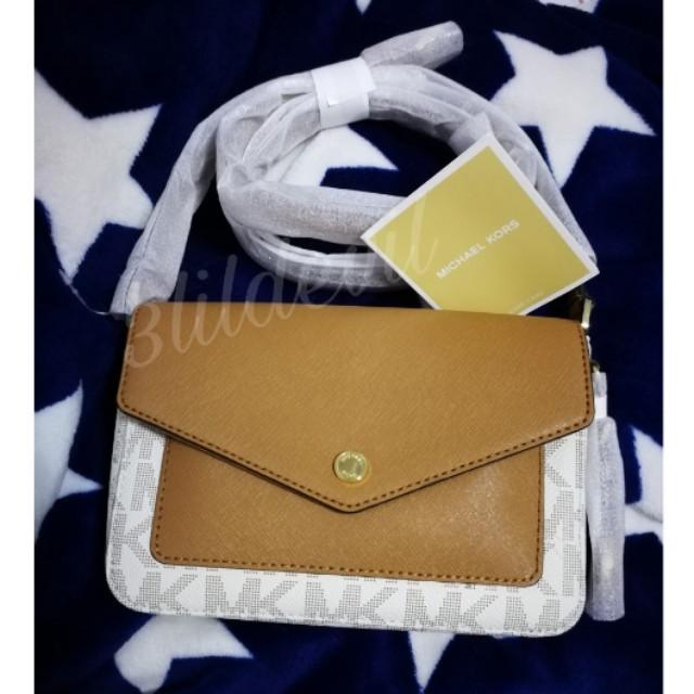 245d15cb5c6f MK vanilla crossbody greenwich Michael kors bag