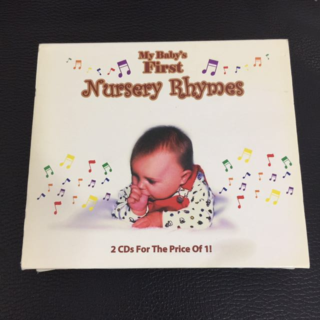 My Baby First Nursery Rhymes Music Media Cds Dvds Other On Carou