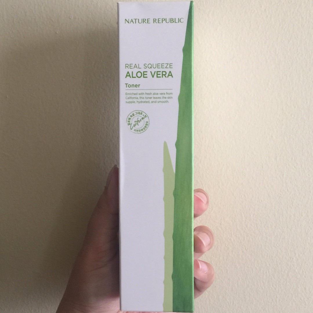 Nature Republic Real Squeeze Aloe Vera Toner 150 ml