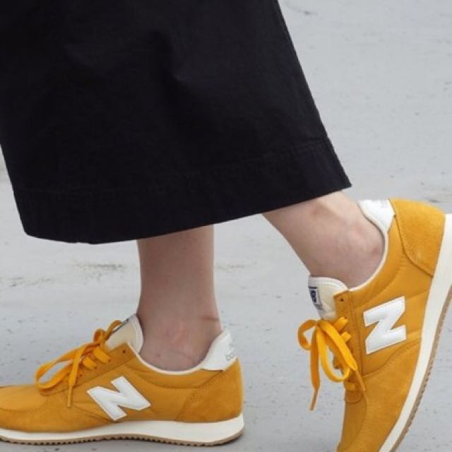 new balance u220 yellow