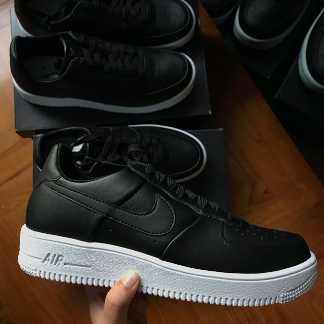 7227c15b4a6 Nike Air Force 1 Ultra Force Leather Black White