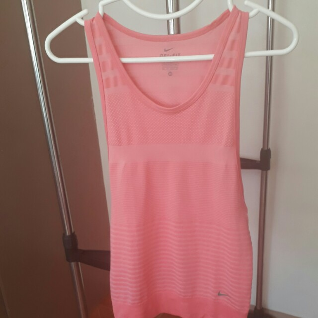 Nike Pink Work Out Top