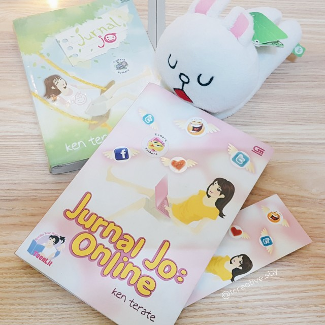 Novel Teenlit: Jurnal Jo dan Jurnal Jo: Online (Ken Terate)