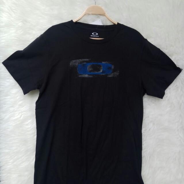 Oakley T-Shirt / Kaos Oakley Original Black Size M