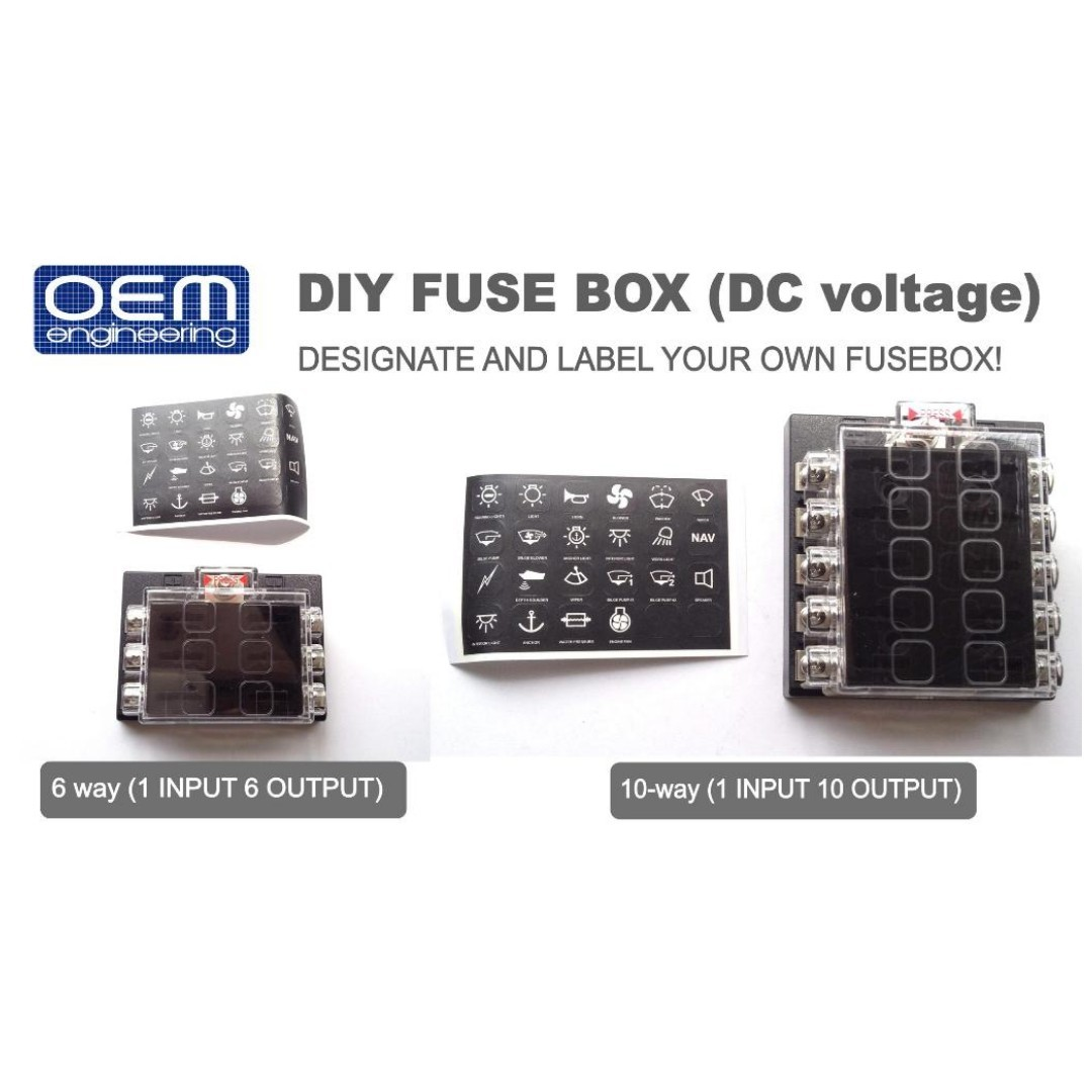 gem car fuse box make your own car fuse box oem engineering diy fuse box kits, auto accessories ...