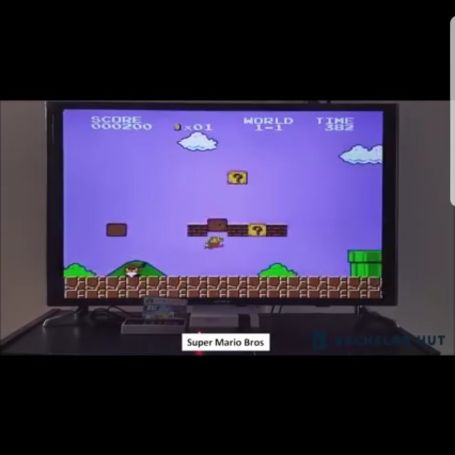 Old school video game!