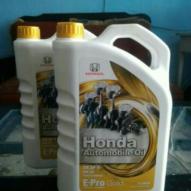 Oli Mesin E Pro Gold Honda Sae 0w 20 Auto Accessories On Carousell