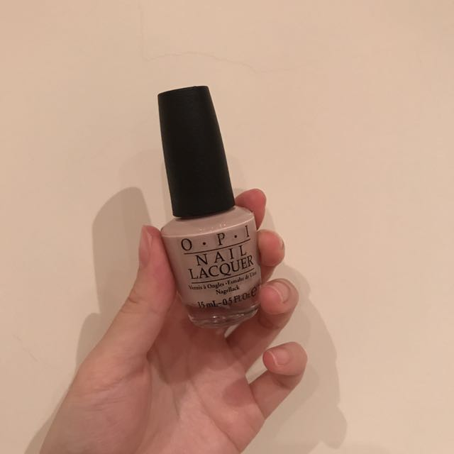 OPI 指甲油 My Very First Knockwurst 裸色