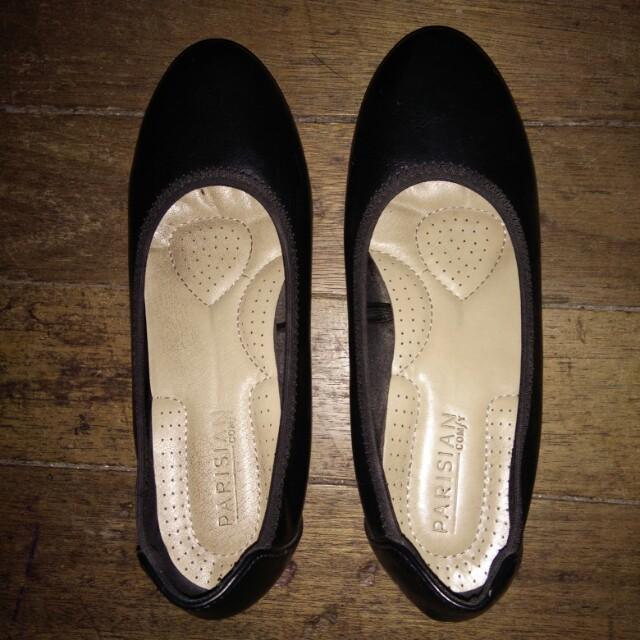Parisian Comfy Black Shoes