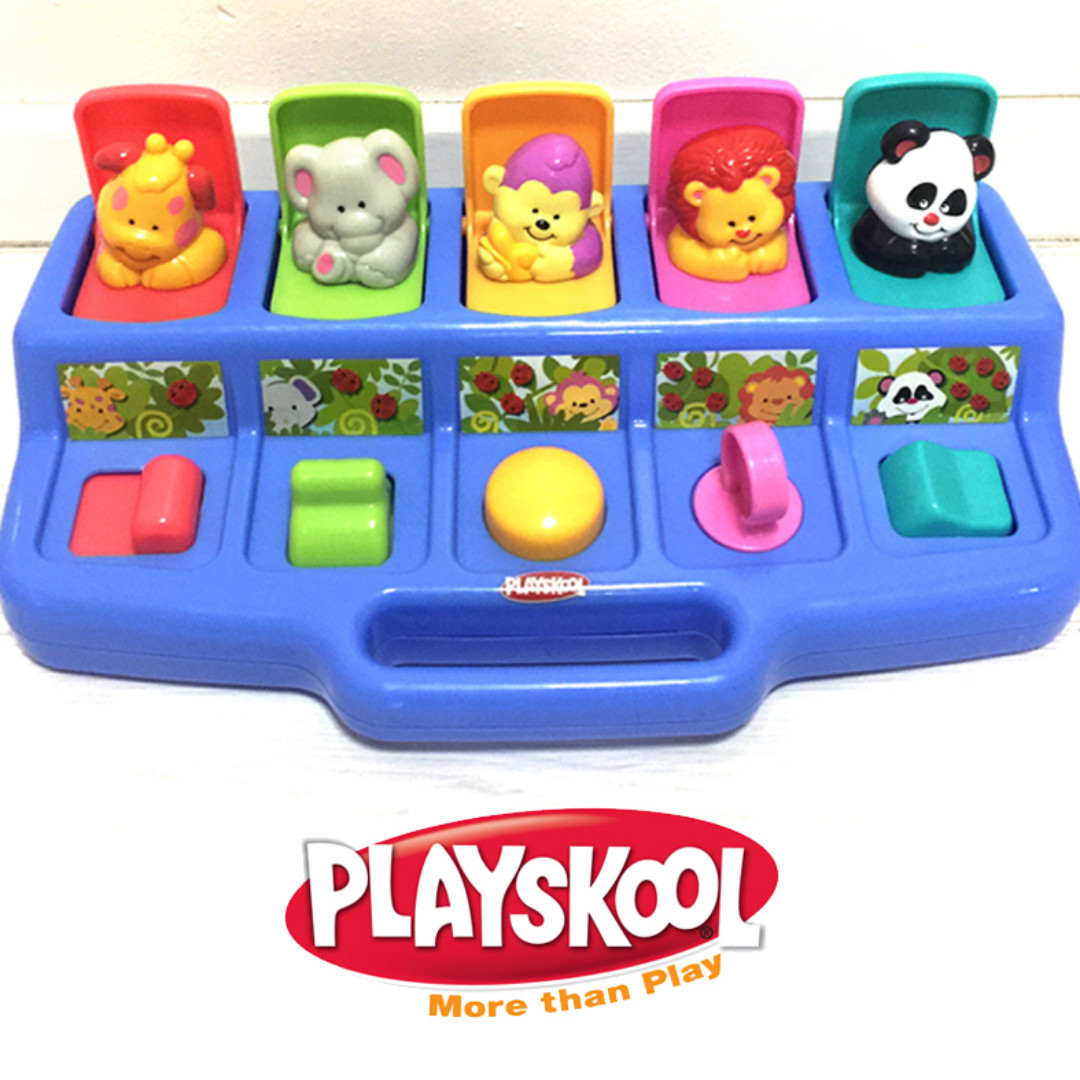 Playskool Play Favorites Busy Poppin/' Pals Ages 9 months... Pop Up Activity