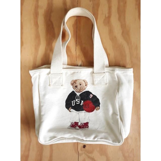 Polo Bear Ralph Lauren Tote Bag 381f855abfda9