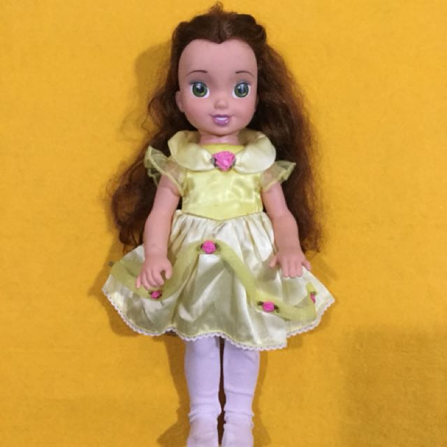 """Preloved Disney 2002 Playmates 15"""" Belle"""