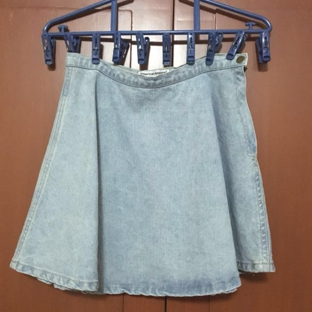 PRICE MARKDOWN! American Apparel Denim Circle Skirt