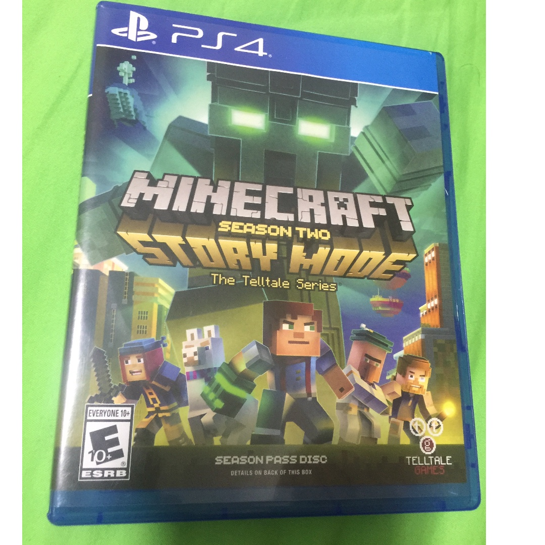 PS4 Minecraft Story Mode Season 2