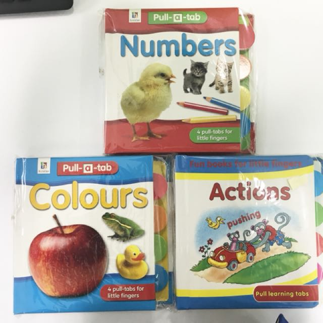 Pull - A - Tab (Funbooks for Little Fingers)