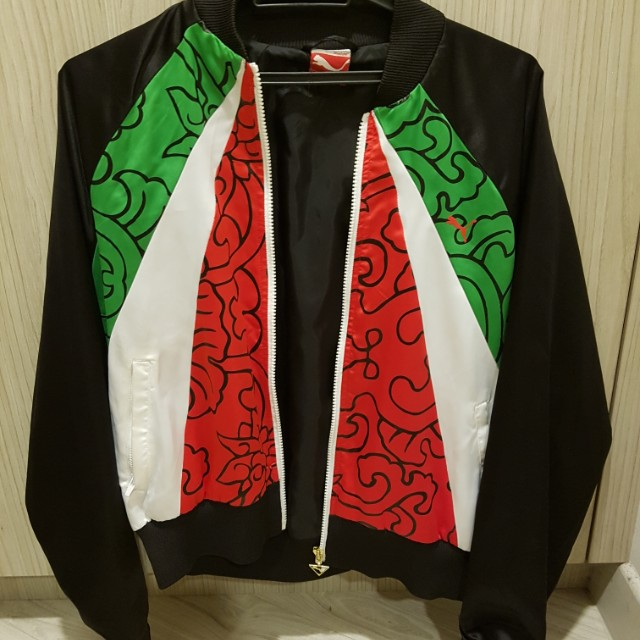 lowest price 71953 2c0b0 Puma x Kehinde Wiley Jacket, Women s Fashion, Clothes, Outerwear on  Carousell