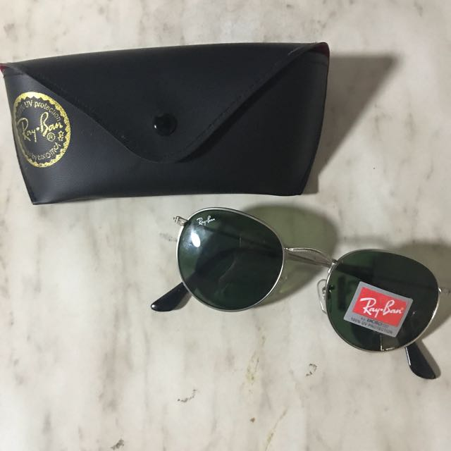 Ray-Ban Round Sunglasses (FREE SHEET MASK)