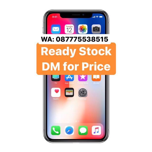 Ready IPHONE X 256 Gb