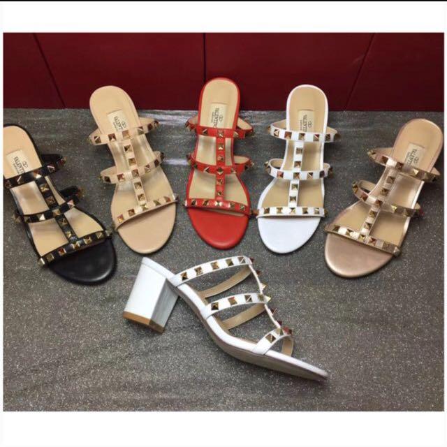 Rockstud sandal 0391