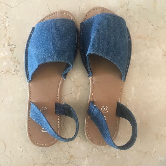Rubi Denim Sandals Sz37