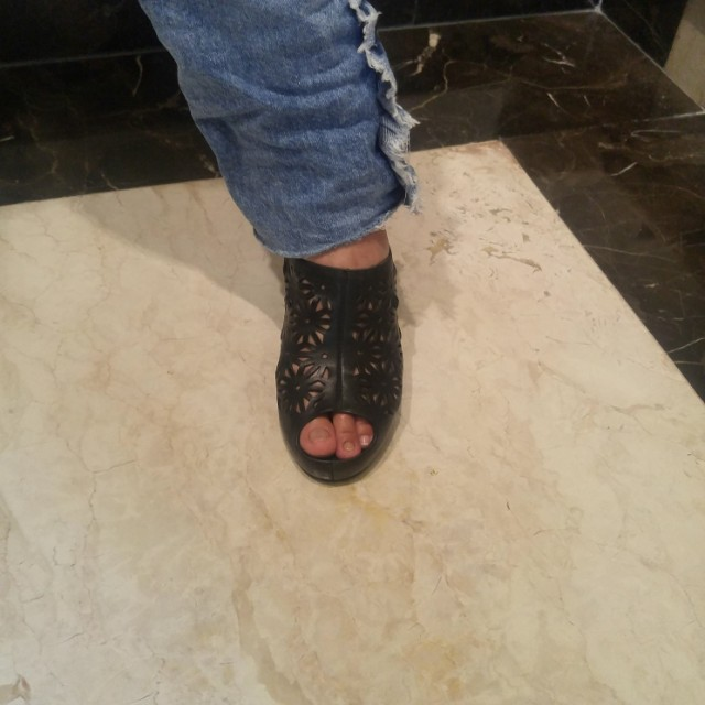 Sandal wedges size 39 olga strada