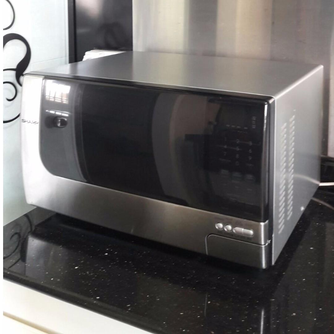 Sharp R397j Microwave Used Please