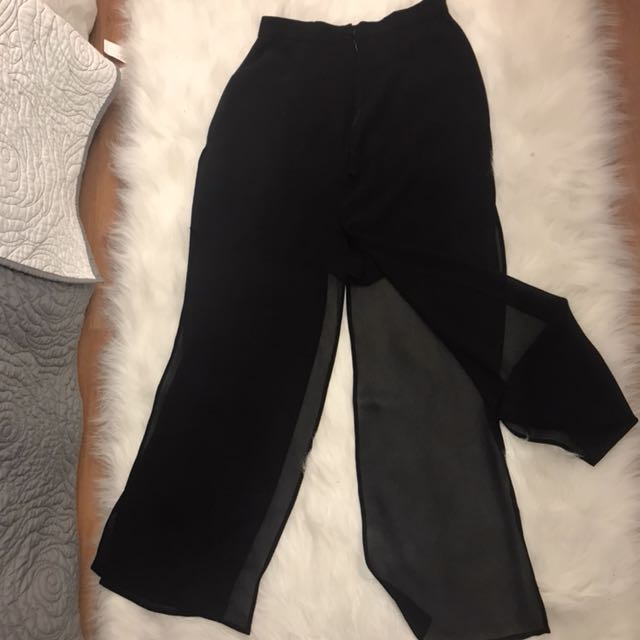 Sheer pants Size 6
