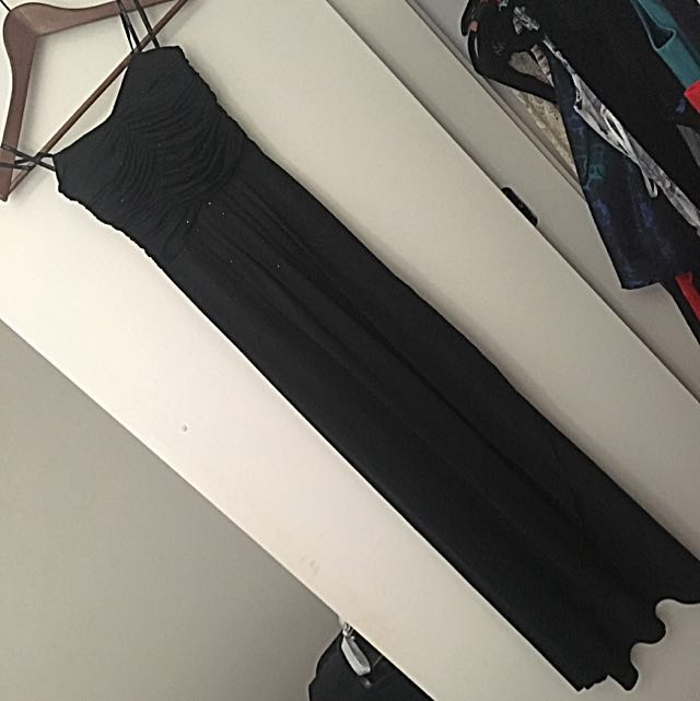 Size 6 Strapless Formal Dress/Gown