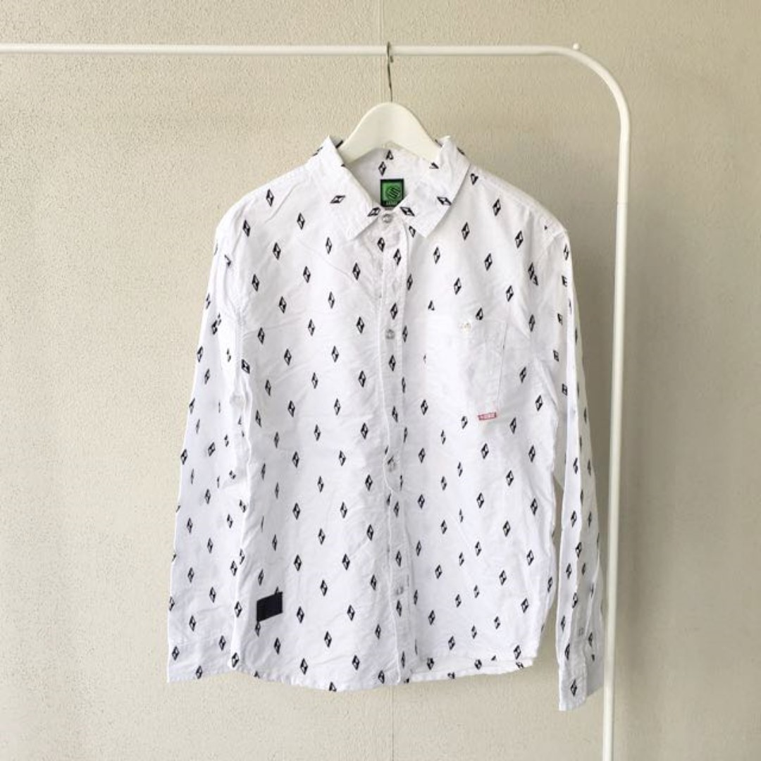STAGE White Patterned Shirt