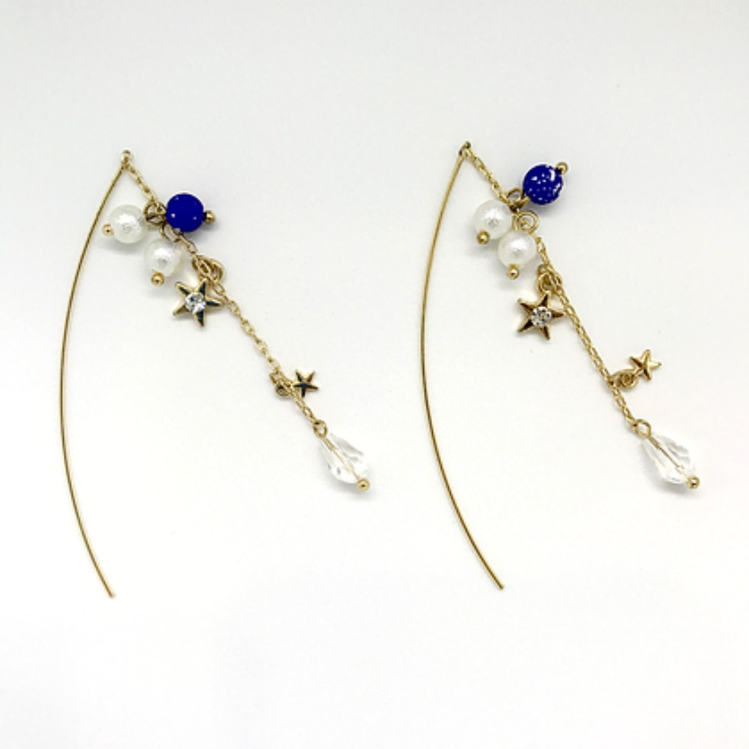 Star Dream Long Earrings