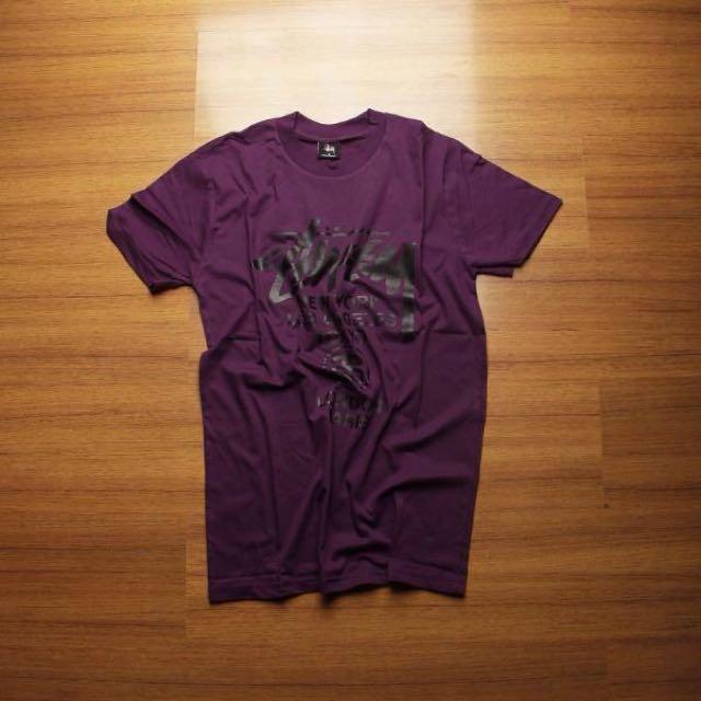 STUSSY World Tour Purple Premium
