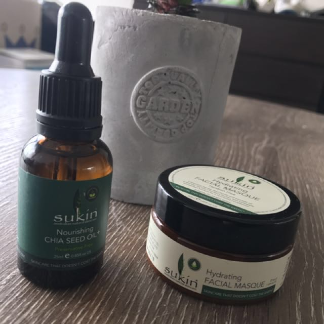 SUKIN chai Seed Oil + Hydrating Face Masque