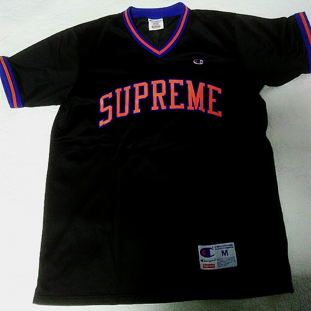 Supreme x champion jersey