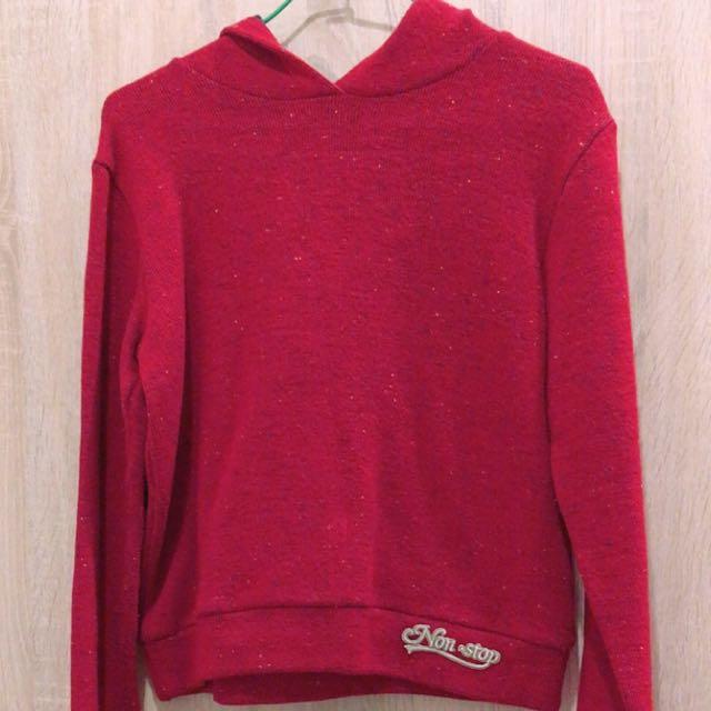 可愛小紅帽T毛衣保暖冬天必備材質舒適
