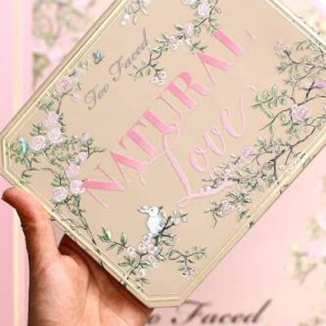 Too Faced Natural Love Palette LIMITED EDITION