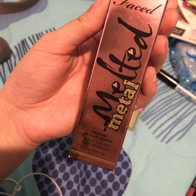 Toofaced melted lipstick