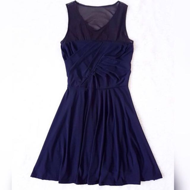 [TURUN HARGA] Navy Stretch Dress