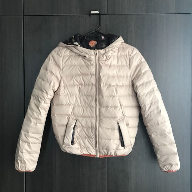 Two sided down jacket