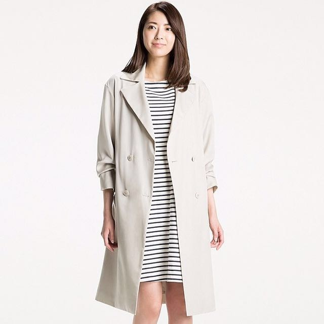 Uniqlo Women Trench Coat