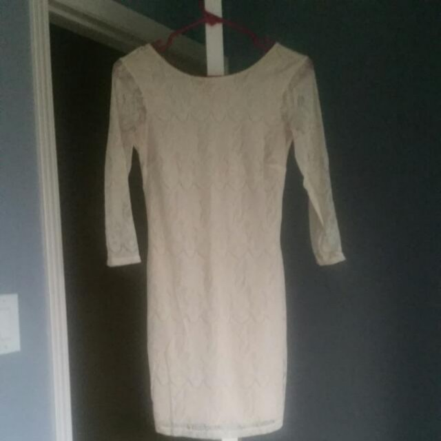 Urban Outfitters Lace Long Sleeve Dress