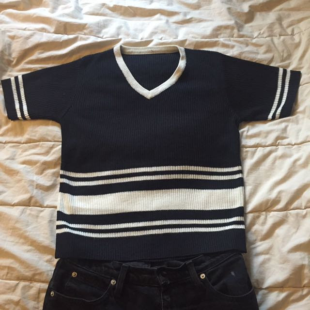 Vintage knitted tshirt